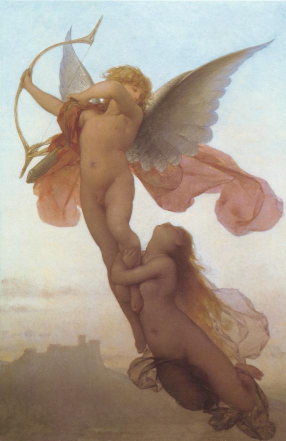 Eugène Médard (French, 1847-1887), L_Amour et Psyche